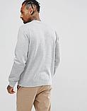 Мужская спортивная кофта свитшот, толстовка Puma (Пума) серая, фото 2