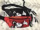 Поясная сумка, бананка adidas Mickey Red (красная), фото 7