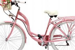 Немецкий городской велосипед женский Germancode рама 18 колеса 28