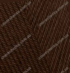 Нитки Alize Diva 26 коричневый