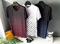 РАСПРОДАЖА ( M L) Мужская футболка Men's Louis Vuitton