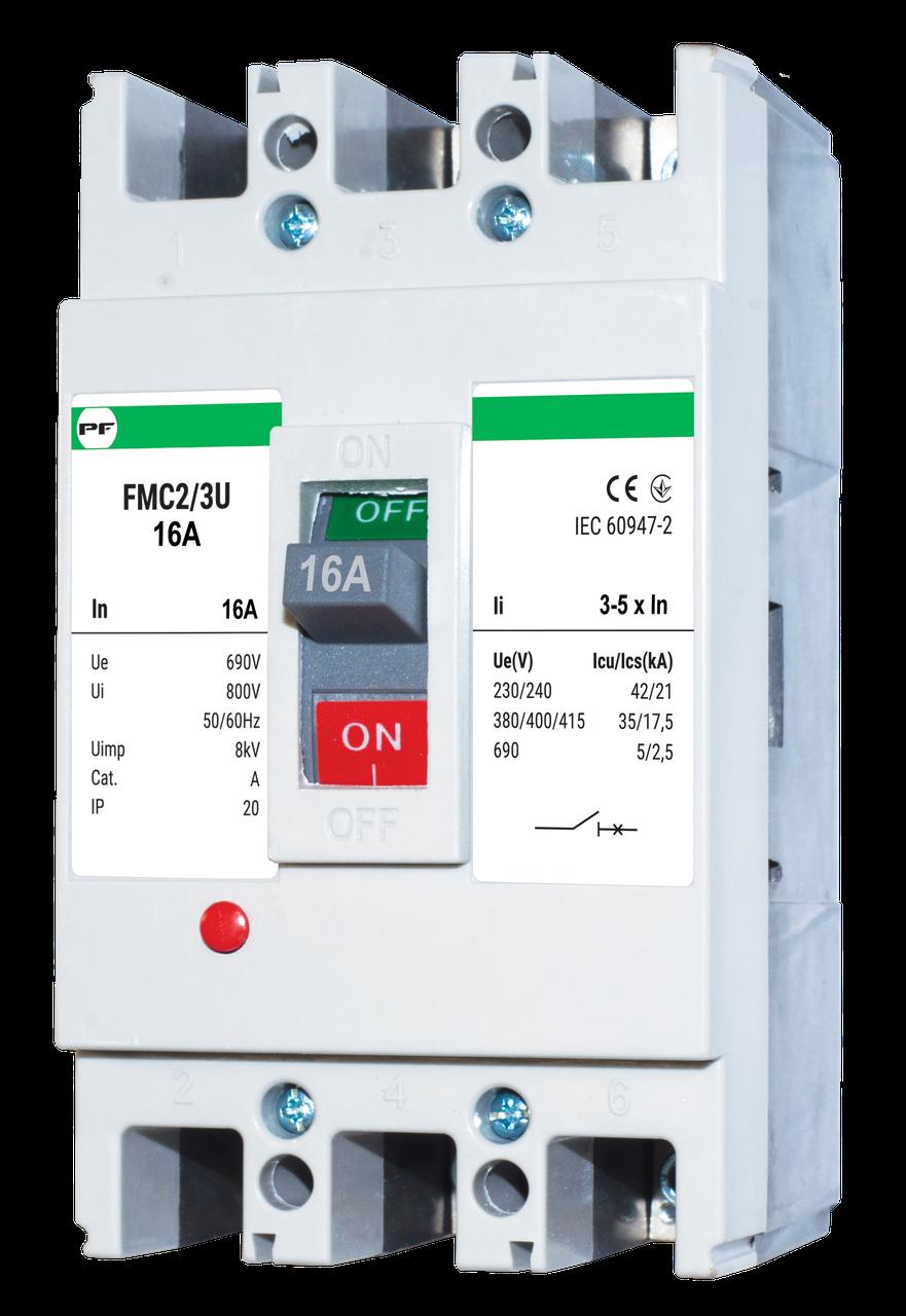Автоматичний вимикач FMC2/3U    3-5In  3P  In=32А