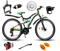 Горный велосипед MTB Goetze Antrack Tought рама 17,5 дюймов 26 черный