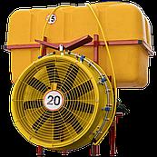 Опрыскиватель садовый с редукторным вентилятором и медными форсунками 800 л (Польша)