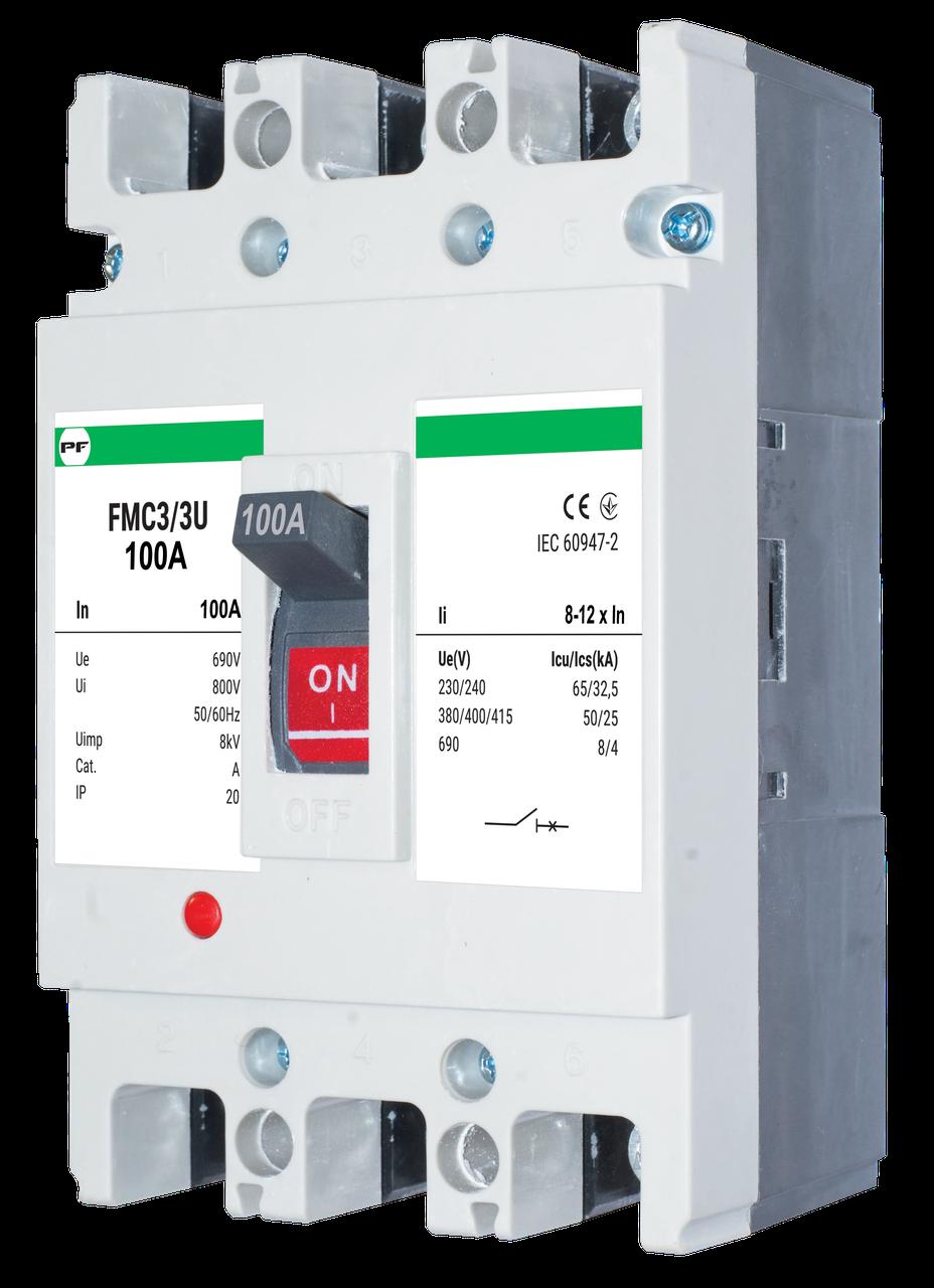 Автоматический выключатель FMC3/3U    8-12In  3P  In=160А