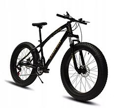 Горный велосипед Fatbike Inna рама 17,5 дюймов 26 черный