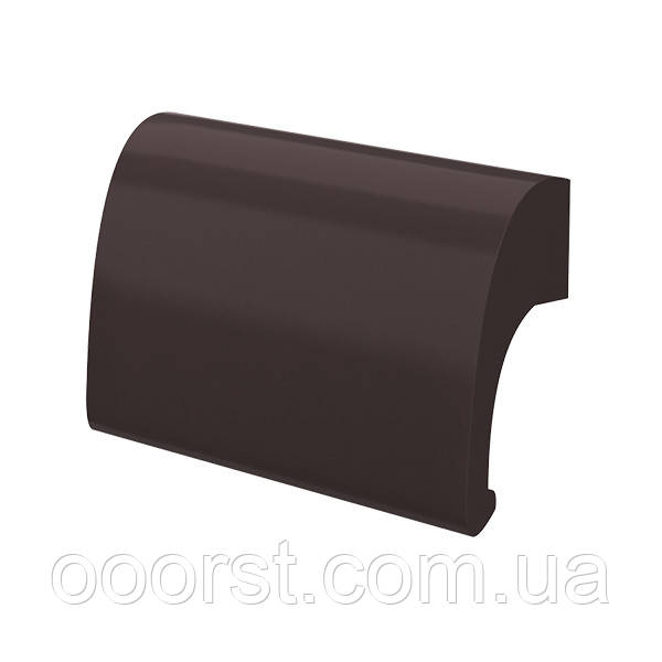 Балконная ручка(ручка курильщика) Primium Delux металлическая коричневая ral8019