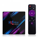 Нові 4K Android Smart TV, H96 MAX TV box, IPTV, TB/TV приставка 4/32 GB Android 9 НАЛАШТОВАНА, фото 6