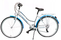 Городской женский велосипед Kands Laguna VS-3 KZW рама 17 дюймов 26 белый