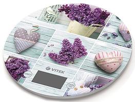 Весы кухонные Vitek VT-2426 Llilac