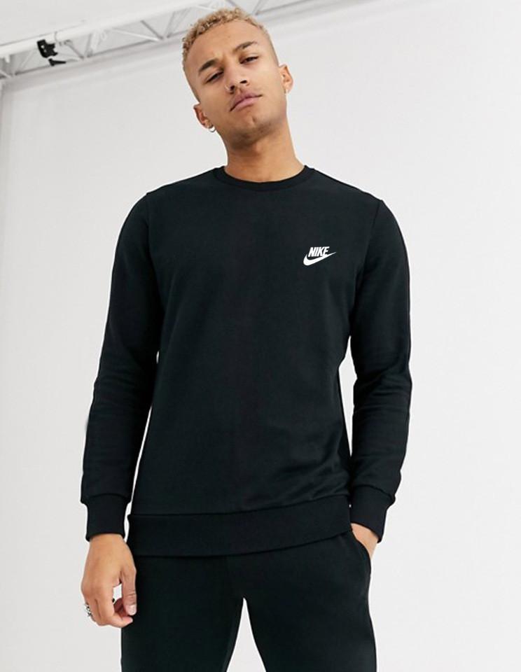 Мужской спортивный свитшот Nike (Найк) черная