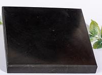 ШУНГИТ полированная плита 100x100 мм