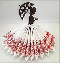 """Підставка для серветок """"Принцеса з парасолькою"""" Karmen"""