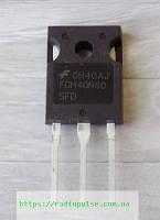 IGBT-транзистор FGH40N60SFD оригинал , TO247