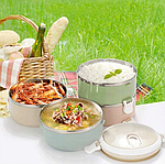 Термос-контейнер для обідів 3 л Termos Lunchbox P1, фото 3
