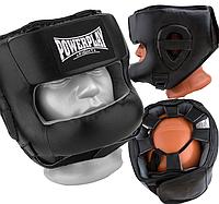 Закритий Боксерський шолом тренувальний 3067 з бампером PU, Amara Чорний XL R144826
