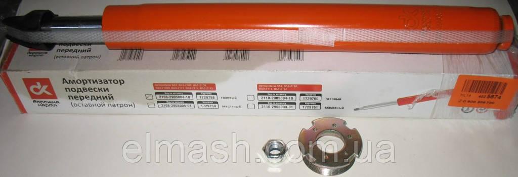 Амортизатор ВАЗ 2108 подвески передней газовый (вставной патрон) <ДК>