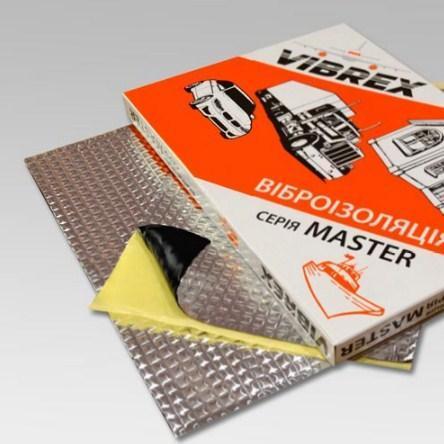Виброизоляция Vibrex Master Light 2*500*700 лист