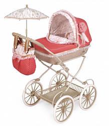 Коляска для кукол DeCuevas Martina Classic 81033 с сумкой и зонтиком