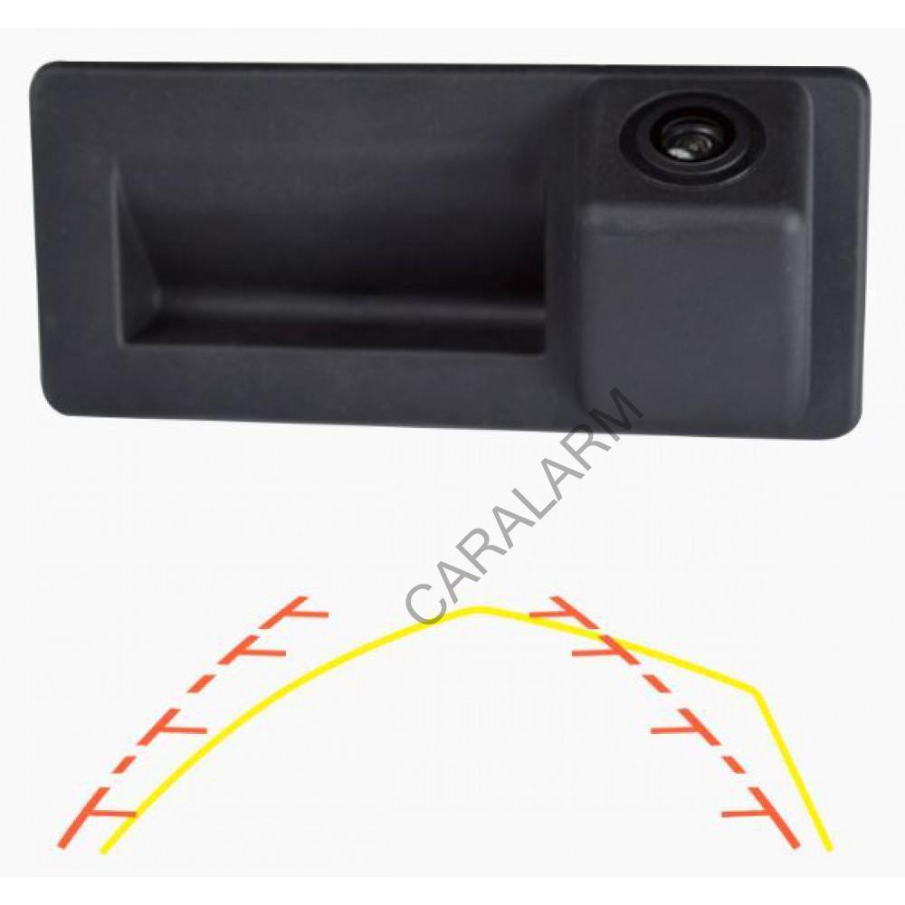 Камера заднего вида в ручку багажника Prime-X TR-08 CAN+IPAS (Audi, Skoda, Volkswagen)