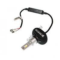 Лампи світлодіодні Baxster S1 gen3 H3 5000K CAN+EMS (2 шт), Лампи, світлодіодні, Baxster, S1, gen3, H3, 5000K, CAN+EMS, (2, шт)