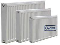 Стальной панельный радиатор OCEAN 22 тип, высота 300мм, боковое подключение