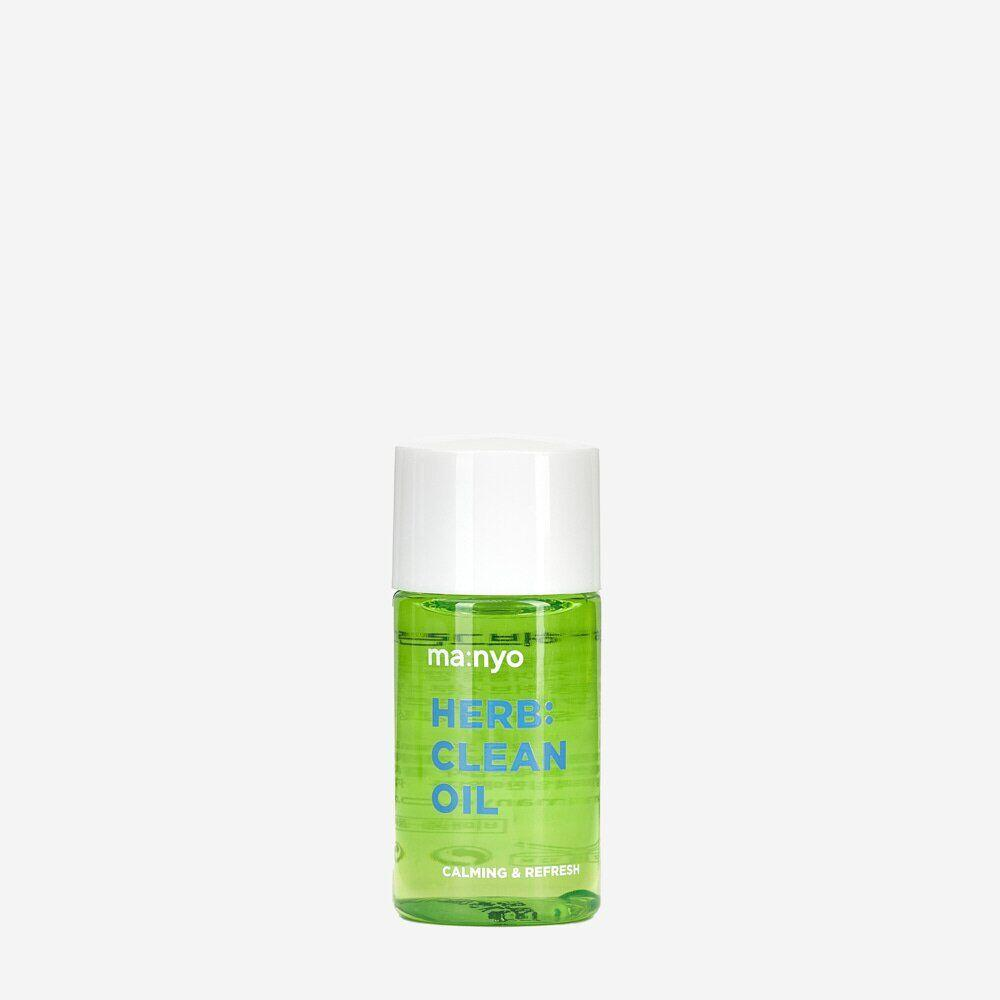Миниатюра масла гидрофильного на основе комплекса трав Manyo Factory Herb: Clean Oi, 25 мл