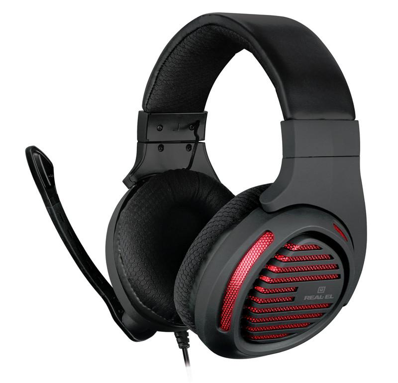 Гарнітура REAL-EL GDX-7880 Black UAH