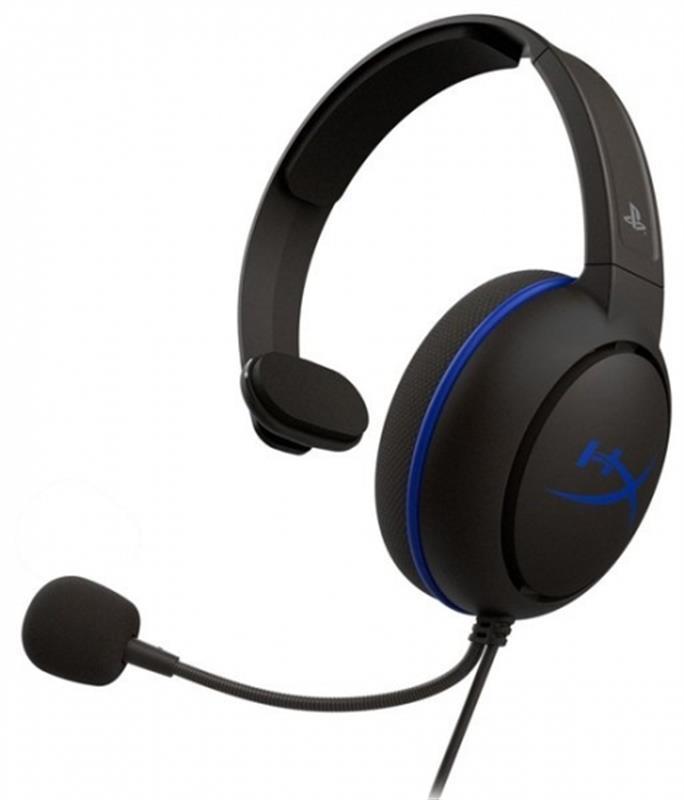 Гарнітура Kingston HyperX Cloud Chat Headset for PS4 Black (HX-HSCCHS-BK/EM)