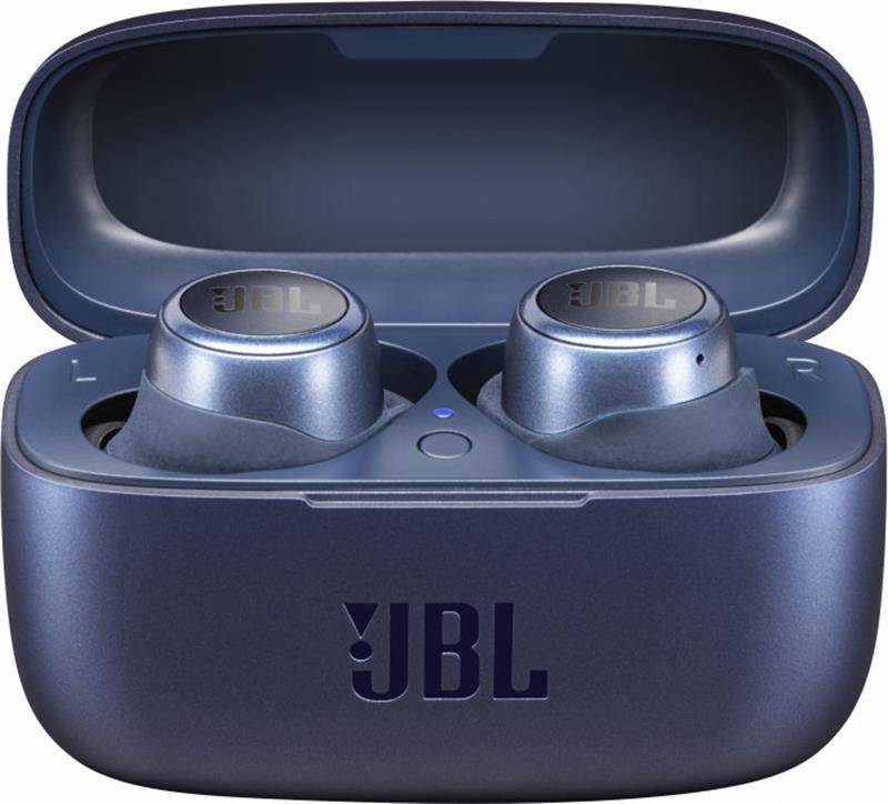Беспроводные наушники TWS Bluetooth-гарнитура JBL Live 300TWS Blue (JBLLIVE300TWSBLU)