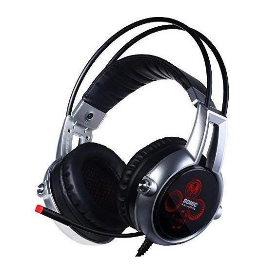 Гарнітура Somic E95x Black/Silver
