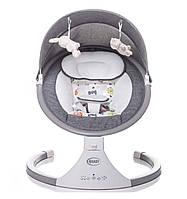 Гойдалка-дитяча ROCK'N RELAX від 4Baby!  Колір: сірий (grey).Для дітей від народження до 9 кг., фото 1