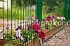Забор из сварной сетки для ограждения клумб
