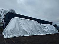 Тент из ПВХ ткани 450 г/кв.м. 12х30 для укрития минеральных удобрений в бигбегах