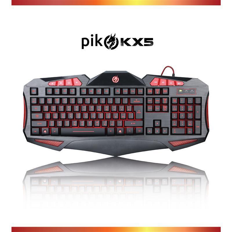 Клавіатура Piko KX5 Black (1283126489600) USB