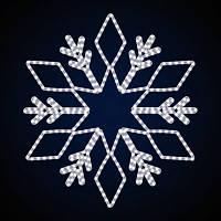 """Снежинка светодиодная """"Азур"""", 56 Вт"""