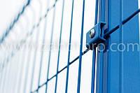 Забор из сварной сетки  для ограждения зданий