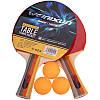 Комплект для настільного тенісу (2 ракетки, 3 м'ячі, сітка, чохол) WEINIXUN A270, фото 6