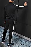 Спортивный мужской костюм Adidas (Адидас) эластика, дайвинг, фото 2