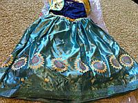 Костюм для девочек: Анна, Холодное сердце. Frozen, Disney., фото 1