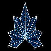 "Верхушка для ёлок светодиодная ""Корона"" 1.6х1.9м"