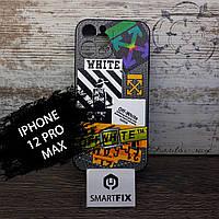 Силіконовий чохол з малюнком для iPhone 11 Pro Max IMD Case дизайн №3, фото 1
