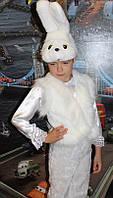 Детский карнавальный костюм Зайчик беленький прокат, Троещина, Киев