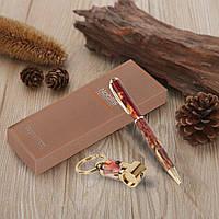 Набор для подарка шариковая ручка, брелок с фонариком 395514, фото 1