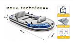 Надувная лодка Intex Excursion 4 четырехместная, фото 5