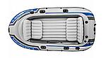 Надувная лодка Intex Excursion 4 четырехместная, фото 2