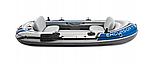 Надувная лодка Intex Excursion 4 четырехместная, фото 3