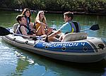 Надувная лодка Intex Excursion 4 четырехместная, фото 6