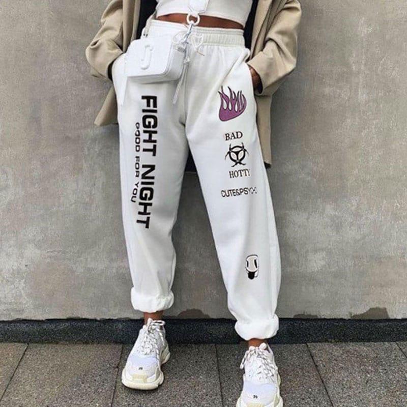 Жіночі спортивні штани, турецька трехнить на хутрі, р-р 42-44; 44-46 (чорний)
