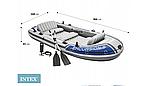 Надувная лодка Intex Excursion 5 пятиместная, фото 2